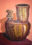 Obras de arte: Europa : Italia : Calabria : lameziaterme : ceramica indigena, urna quiroga