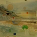 Obras de arte:  : España : Andalucía_Huelva : huelva : Ataerdecer de Punta Umbría