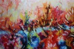 Obras de arte:  : Colombia : Antioquia : Medellin : incendio
