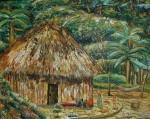 Obras de arte: America : Colombia : Antioquia : Medellín : Choza de los Olvidados Indios Kuna