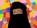 Obras de arte:  : Italia : Lombardia : Milano : el burka