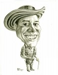 Obras de arte: America : Colombia : Santander_colombia : Bucaramanga : Caricatura