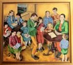 Obras de arte: Europa : España : Galicia_Lugo : lugo_ciudad : Interpretación Escola de Doloriñas