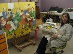 Obras de arte: Europa : España : Galicia_Lugo : lugo_ciudad : Trabajando