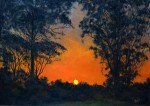 Obras de arte: America : Colombia : Cundinamarca : BOGOTA_D-C- : 0698-06-0128 Puesta de sol, Girardoe