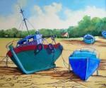 Obras de arte: Europa : España : Castilla_y_León_Burgos : burgos : Barcos varados
