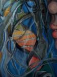 Obras de arte: America : Argentina : Rio__Negro : Bariloche : DUAL detalle del ADN universal  que nos conecta