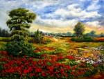 Obras de arte: Europa : España : Madrid : Las_Rozas : Colores de la primavera