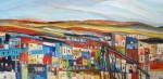 Obras de arte: America : Chile : Region_Metropolitana-Santiago : Santiago_de_Chile : Ascensor en el cerro