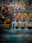 Obras de arte: Europa : Italia : Calabria : lameziaterme : FUENTE EN LA MONTAñA