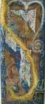Obras de arte: America : México : Mexico_Distrito-Federal : Coyoacan : Cosmos de Papel Sagrado