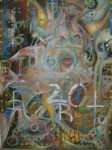 Obras de arte: America : México : Mexico_Distrito-Federal : Coyoacan : con Intensidad Hasta que Duela