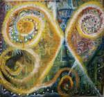 Obras de arte: America : México : Mexico_Distrito-Federal : Coyoacan : Mordido por la Serpiente, mi Pie Derecho