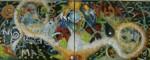 Obras de arte: America : México : Mexico_Distrito-Federal : Coyoacan : Gracias a la Vida