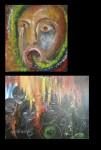 Obras de arte: America : México : Mexico_Distrito-Federal : Coyoacan : Clamor de Justicia