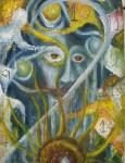 Obras de arte: America : México : Mexico_Distrito-Federal : Coyoacan : Totalidad del Oraculo Diptico P 1