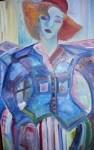 Obras de arte:  : España : Galicia_La_Coruña : Santiago_de_Compostela : Menina valada