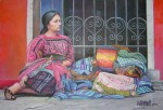 Obras de arte:  : Guatemala : Guatemala-region : Guatemala-ciudad : Princesa Maya