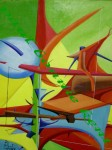 Obras de arte: Europa : Italia : Emilia-Romagna : Rimini : Candelero Papel Botella