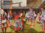 Obras de arte:  : Perú : Lima :  : Danzantes Chonguinos