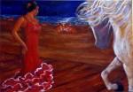 Obras de arte:  : España : Andalucía_Granada : Granada_ciudad : Noche de san juan