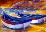 Obras de arte:  : España : Andalucía_Granada : Granada_ciudad : barcas