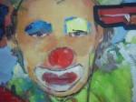 Obras de arte: America : Cuba : Camaguey : Camaguey_ciudad : Pistola Roja y sus fieles (detalle)