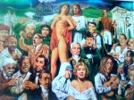Obras de arte:  : Ecuador : Pichincha : Quito : ESTACION PUNTIACHIL
