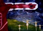 Obras de arte: America : Colombia : Distrito_Capital_de-Bogota : Bogota : Anatomía de una crucifixión