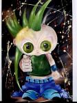 Obras de arte: America : Colombia : Distrito_Capital_de-Bogota : Bogota : punk not dead