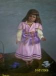 Obras de arte:  : España : Extremadura_Badajoz :  : muñeca de color
