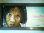 Obras de arte:  : México : Sonora : hermosillo : niña peru
