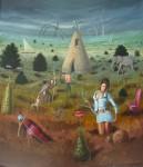 Obras de arte:  : México : Mexico_Distrito-Federal : miguel_hidalgo : las tentaciones de san antonio