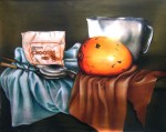 Obras de arte: America : Cuba : La_Habana : Vedado : BODEGON CON CHOCOLE