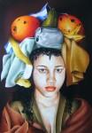 Obras de arte: America : Cuba : La_Habana : Vedado : pregonera III