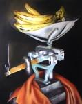 Obras de arte: America : Cuba : La_Habana : Vedado : bodegon con pesa