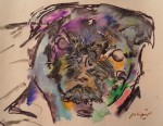 Obras de arte: America : Colombia : Santander_colombia : Bucaramanga : Violeta