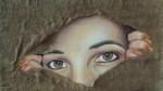 Obras de arte: America : Chile : Valparaiso :  : autorretrato   mis hijos son la luz de mis ojos