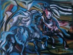 Obras de arte:  : Colombia : Distrito_Capital_de-Bogota : Bogota : LUCHA 1