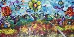 Obras de arte:  : México : Jalisco :  : las  flores de wuirikuta