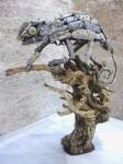 Obras de arte: Europa : España : Andalucía_Almería : Almeria : camaleon