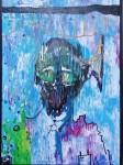 Obras de arte:  : México : Jalisco :  : psicopata en el acuario mental