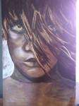 Obras de arte:  : España : Madrid : Madrid_ciudad : un niño en la calle