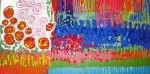 Obras de arte: Europa : España : Catalunya_Tarragona : Reus : JARDIN DE FLORES CON ESTANQUE-2 (Jardí de flors amb estany-2)