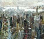 Obras de arte:  : España : Navarra :  : Panoramica de New York
