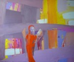 Obras de arte:  : Polonia : Slaskie :  : Orange Angel.2012.Oil on canvas. cm.40x50.