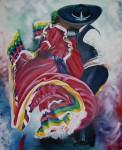 Obras de arte: America : México : Jalisco : zapopan : El jarabe Tapatío