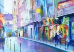 Obras de arte: America : Argentina : Buenos_Aires : ADROGUE : Aquellas tardecitas