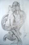 Obras de arte: America : Cuba : Ciudad_de_La_Habana : Playa : Boceto para Sirena 1