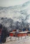 Obras de arte:  : Argentina : Tierra_del_Fuego : Ushuaia : Casa Roja